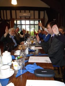 May 2017. The AGM vote
