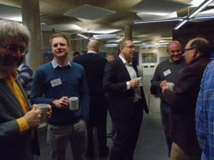 February 2018 Attendees networking