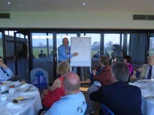 April 2018 - John Reynard presenting
