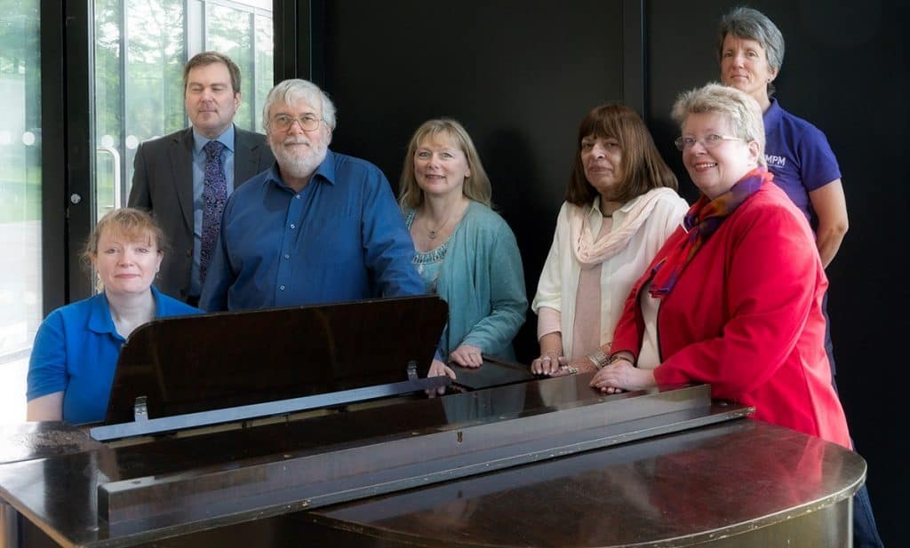 May 2018 some of the newly elected committee