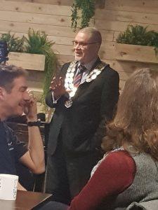 Mayor of Stowmarket, Paul Ekpenyong