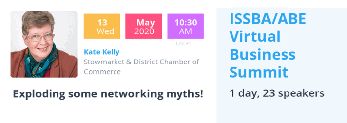Stowmarket Chamber - Exploding the myths of networking