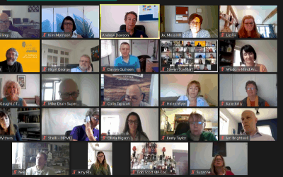 June 2020: welcome new faces at our third virtual breakfast
