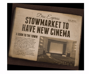 October 2020 - Talk about the opening of the Regal Theatre, Stowmarket