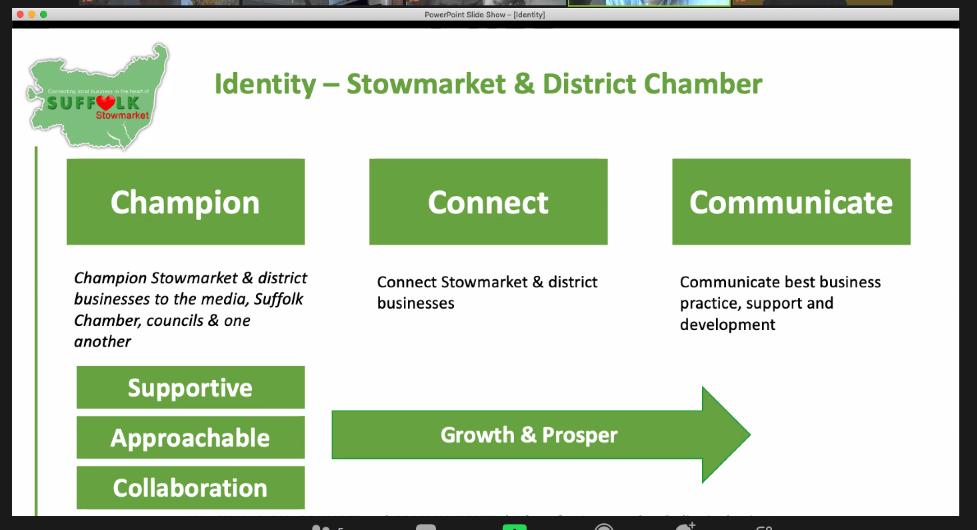 Champion, Connect and Communicate - Stowmarket Chamber